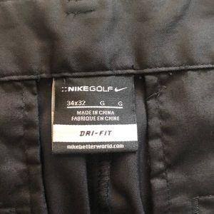Nike Pants - Nike Flat Front Golf Pants 34x32